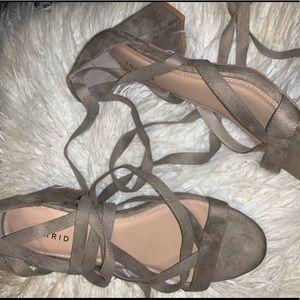 Mini heal sandals